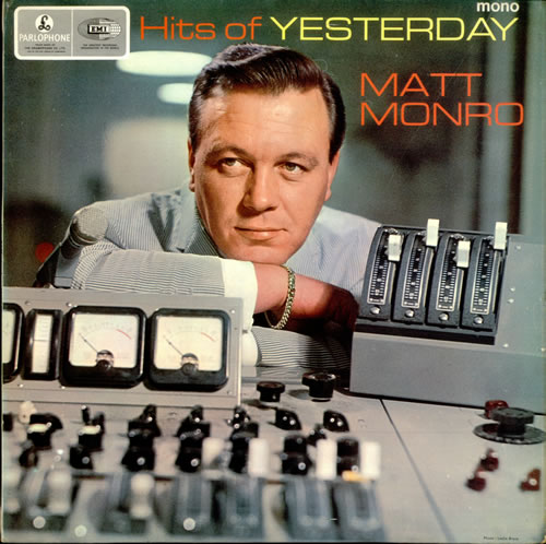Matt Monro Hits Of Yesterday vinyl LP album (LP record) UK MTNLPHI251352