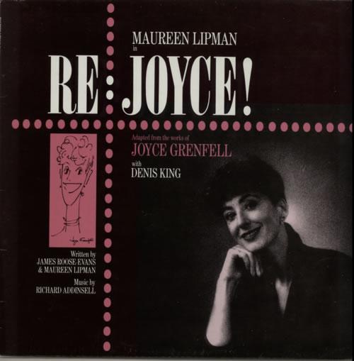 Maureen Lipman Re Joyce vinyl LP album (LP record) UK N37LPRE619910