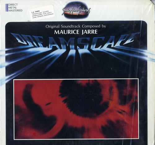 "Maurice Jarre Dreamscape 12"" vinyl single (12 inch record / Maxi-single) US MJA12DR557897"