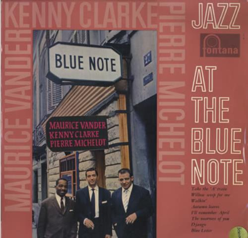 Maurice Vander Jazz At The Blue Note vinyl LP album (LP record) French MVDLPJA373649