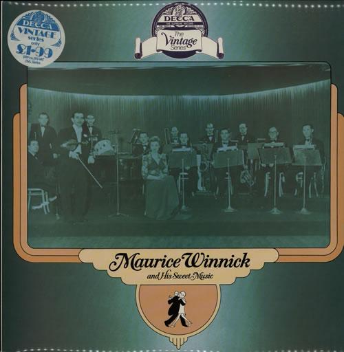 Maurice Winnick Maurice Winnick And His Sweet Music vinyl LP album (LP record) UK NNXLPMA567096