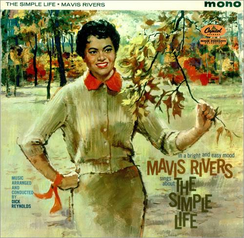 Mavis Rivers The Simple Life - Factory Sample vinyl LP album (LP record) UK RV0LPTH456685