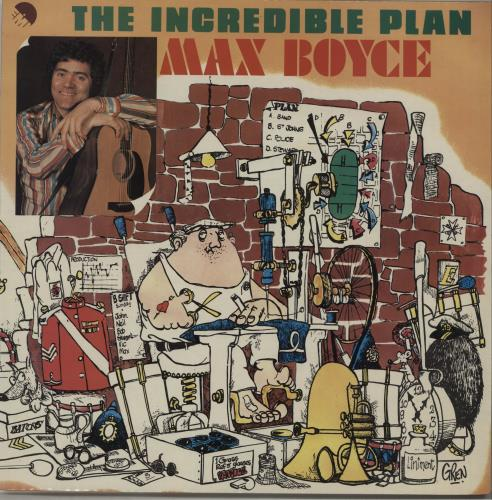 Max Boyce The Incredible Plan vinyl LP album (LP record) UK MXBLPTH547351