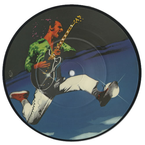 """Max Webster Paradise Skies 7"""" vinyl picture disc 7 inch picture disc single UK MXW7PPA06589"""