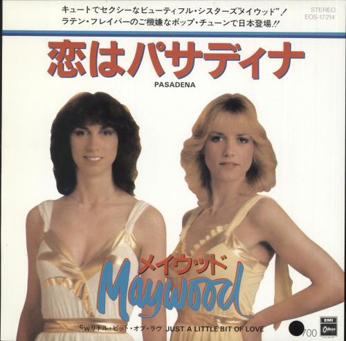 "Maywood Pasadena 7"" vinyl single (7 inch record) Japanese N3007PA730408"
