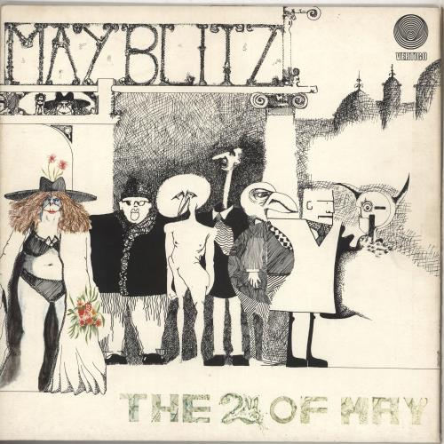 May Blitz The 2nd Of May vinyl LP album (LP record) UK MBZLPTH492608