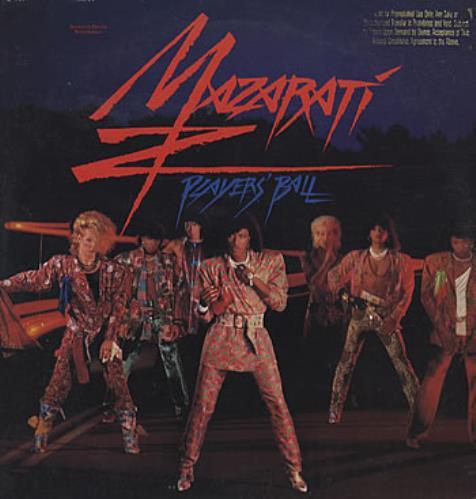 "Mazarati Player's Ball - Gold promo stamped 12"" vinyl single (12 inch record / Maxi-single) US MZA12PL24040"