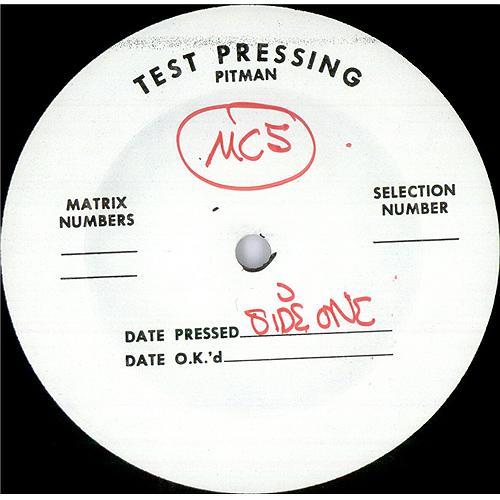 MC5 Kick Out The Jams - Test Pressing vinyl LP album (LP record) US MC5LPKI422506