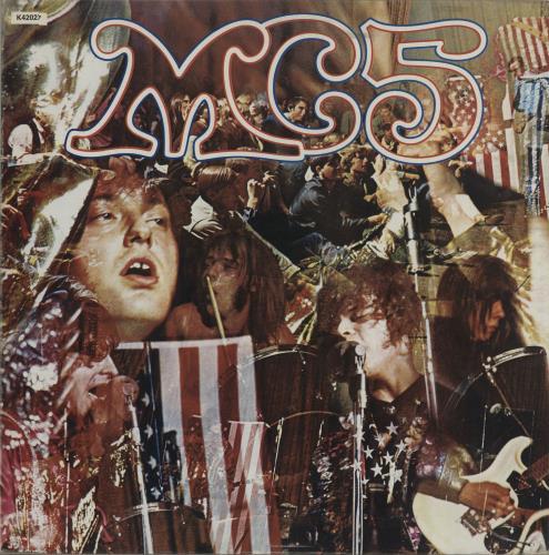 MC5 Kick Out The Jams vinyl LP album (LP record) UK MC5LPKI212208