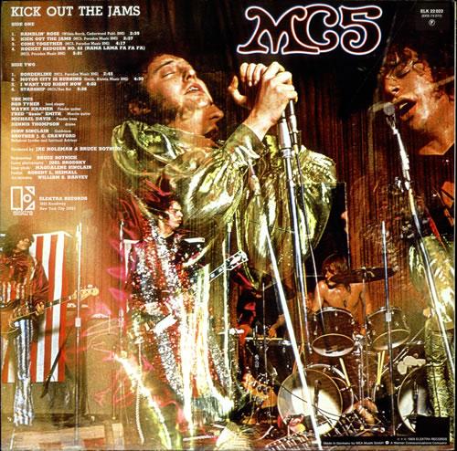 MC5 Kick Out The Jams vinyl LP album (LP record) German MC5LPKI518791