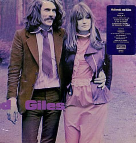 McDonald & Giles McDonald And Giles vinyl LP album (LP record) US M&GLPMC209542