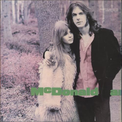 McDonald & Giles McDonald And Giles vinyl LP album (LP record) UK M&GLPMC706624