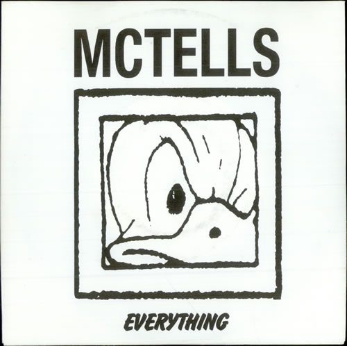 "McTells Everything EP 7"" vinyl single (7 inch record) German M5407EV510050"