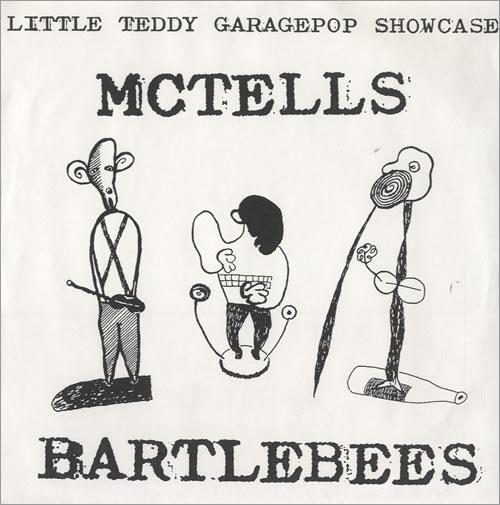 "McTells Little Teddy Garagepop Showcase EP 7"" vinyl single (7 inch record) German M5407LI509641"