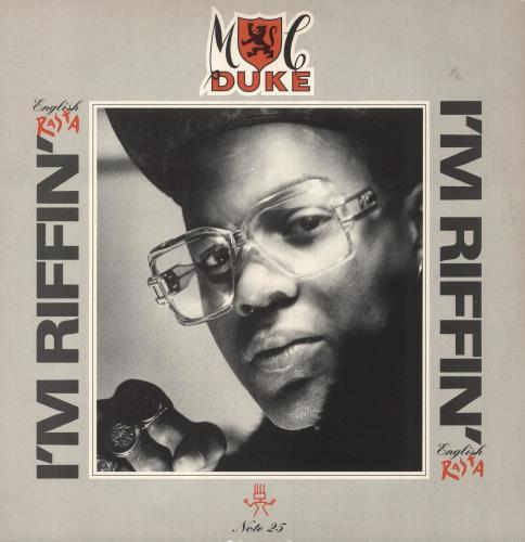 "MC Duke I'm Riffin' (English Rasta) 12"" vinyl single (12 inch record / Maxi-single) UK N6A12IM748090"