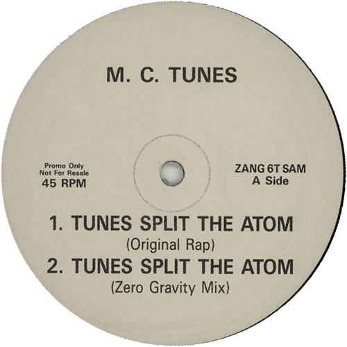 "MC Tunes Tunes Split The Atom 12"" vinyl single (12 inch record / Maxi-single) UK MCT12TU25908"