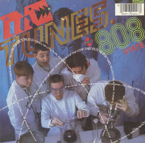 "MC Tunes Tunes Splits The Atom 7"" vinyl single (7 inch record) UK MCT07TU493036"