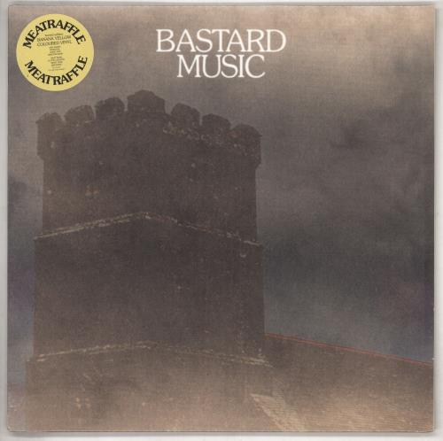 Meatraffle Bastard Music - Yellow Vinyl - Sealed vinyl LP album (LP record) UK 03BLPBA740130