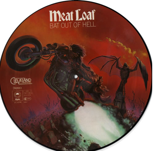 Meat Loaf Bat Out Of Hell Uk Picture Disc Lp Vinyl