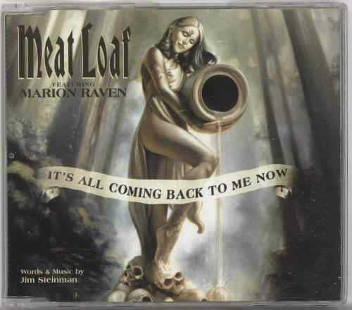 """Meat Loaf It's All Coming Back To Me Now CD single (CD5 / 5"""") UK MEAC5IT697443"""