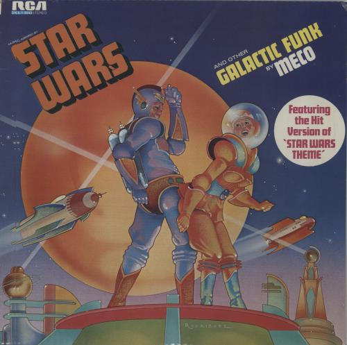 Meco Music Inspired By Star Wars And Other Galactic Funk vinyl LP album (LP record) South African M/OLPMU647018