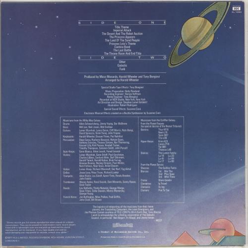 Meco Music Inspired By Star Wars vinyl LP album (LP record) UK M/OLPMU235442