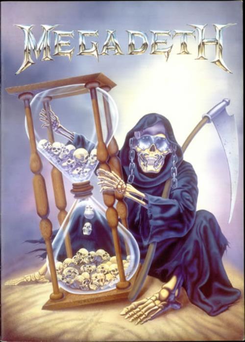 Megadeth Countdown To Extinction Tour Uk Tour Programme