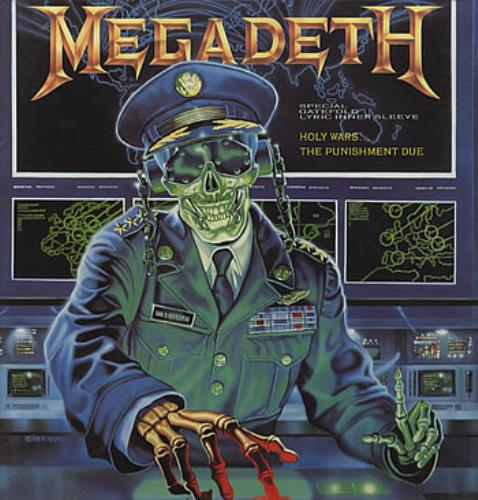 "Megadeth Holy Wars 12"" vinyl single (12 inch record / Maxi-single) UK MEG12HO00980"