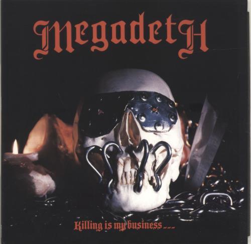 Megadeth Killing Is My Business...And Business Is Good! vinyl LP album (LP record) UK MEGLPKI695416