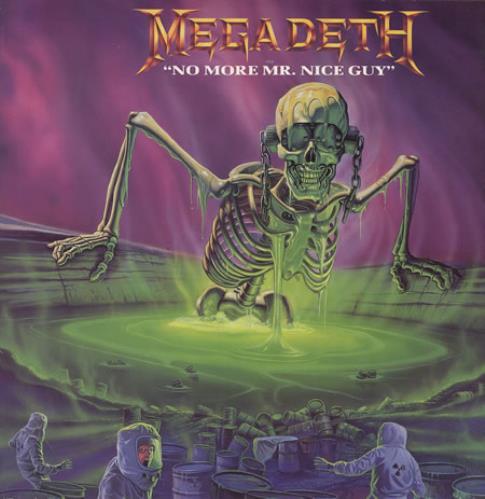 "Megadeth No More Mr Nice Guy 12"" vinyl single (12 inch record / Maxi-single) UK MEG12NO50672"