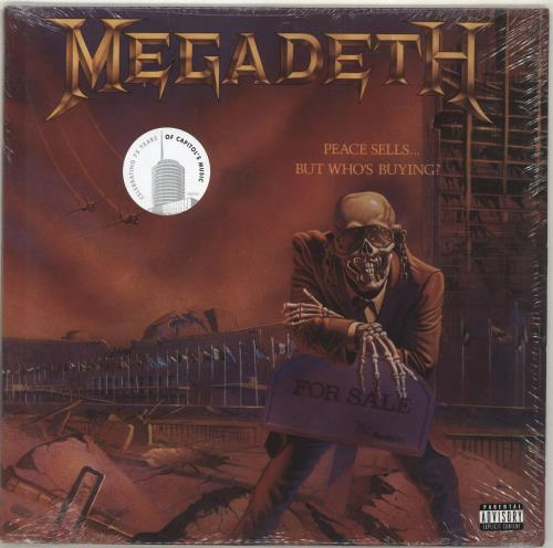Megadeth Peace Sells... But Who's Buying? - 180gm - Sealed vinyl LP album (LP record) US MEGLPPE700471
