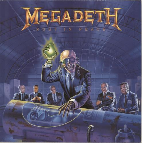 Megadeth Rust In Peace vinyl LP album (LP record) Spanish MEGLPRU688848