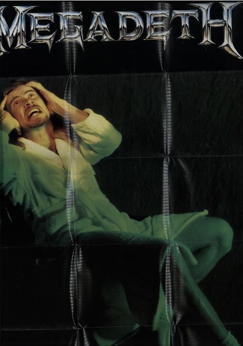 "Megadeth Skin O' My Teeth + Game Board Poster 7"" vinyl single (7 inch record) UK MEG07SK46482"