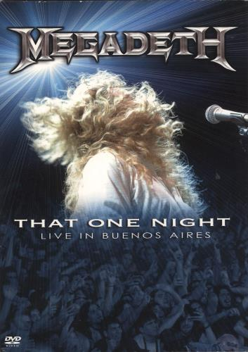 Megadeth That One Night: Live In Buenos Aires - NTSC DVD UK MEGDDTH723825