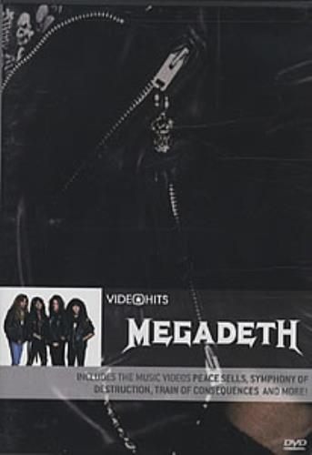 Megadeth Video Hits DVD US MEGDDVI320132