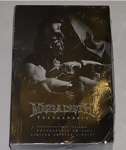 Megadeth Youthanasia + T Shirt box set US MEGBXYO36251
