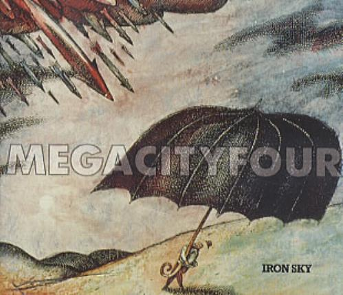 "Mega City Four Iron Sky CD single (CD5 / 5"") UK MCFC5IR274893"