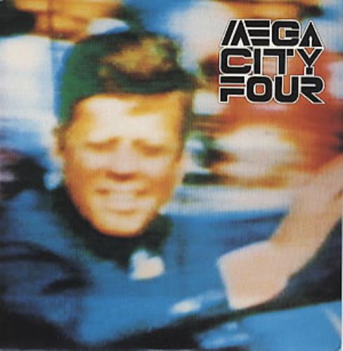 """Mega City Four Less Then Senseless 7"""" vinyl single (7 inch record) UK MCF07LE318966"""