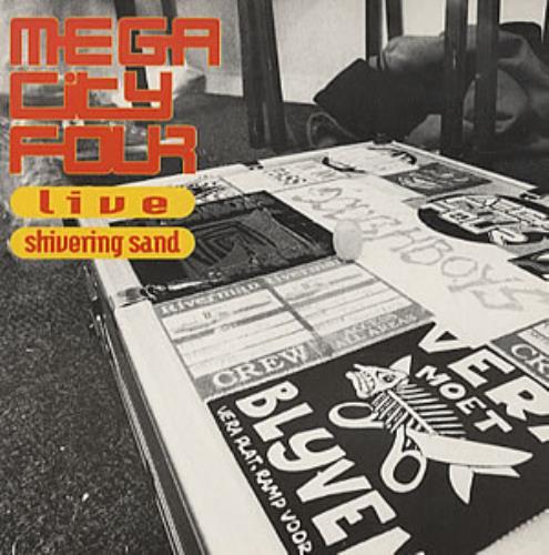 """Mega City Four Live - Shivering Sand EP 7"""" vinyl single (7 inch record) UK MCF07SH319206"""