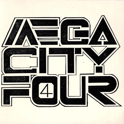 "Mega City Four Miles Apart / Running In Darkness 7"" vinyl single (7 inch record) UK MCF07MI318922"