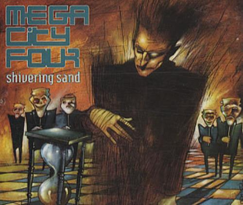 "Mega City Four Shivering Sand CD single (CD5 / 5"") UK MCFC5SH274895"