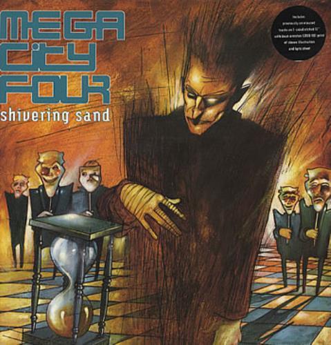 """Mega City Four Shivering Sand 12"""" vinyl single (12 inch record / Maxi-single) UK MCF12SH318051"""