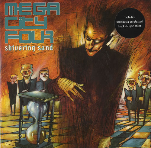 "Mega City Four Shivering Sand 7"" vinyl single (7 inch record) UK MCF07SH467746"