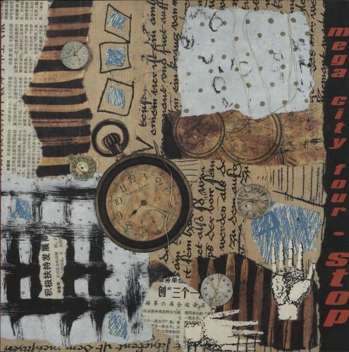 "Mega City Four Stop EP 12"" vinyl single (12 inch record / Maxi-single) UK MCF12ST645024"