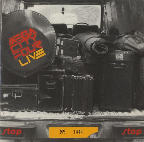 "Mega City Four Stop 7"" vinyl single (7 inch record) UK MCF07ST319214"