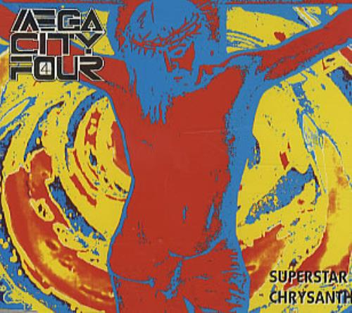 "Mega City Four Superstar CD single (CD5 / 5"") UK MCFC5SU314277"