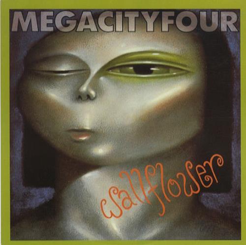 "Mega City Four Wallflower 10"" vinyl single (10"" record) UK MCF10WA383832"