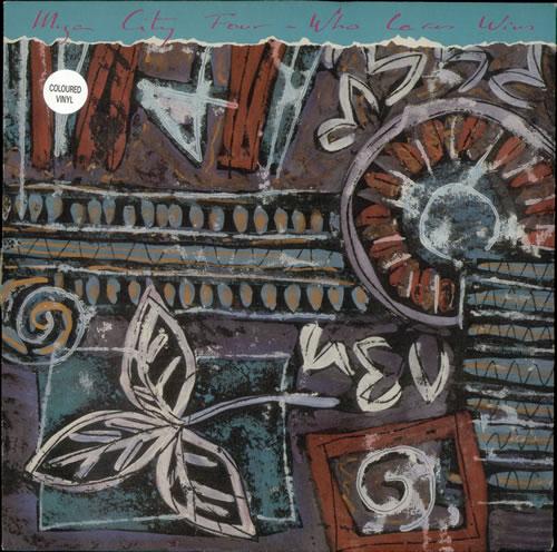 Mega City Four Who Cares Wins - Brown vinyl vinyl LP album (LP record) UK MCFLPWH501063