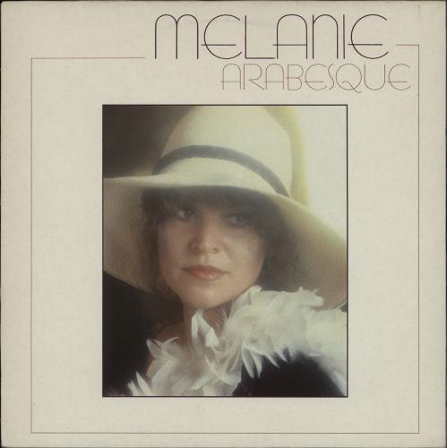 Melanie Arabesque vinyl LP album (LP record) UK MLALPAR764007