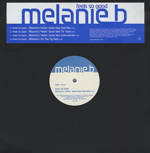 "Melanie B Feels So Good - Double Pack 12"" vinyl single (12 inch record / Maxi-single) UK M.B12FE175164"
